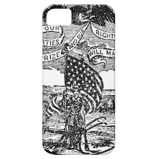 Our Liberties We Prize, Rights We Maintain iPhone 5 Case
