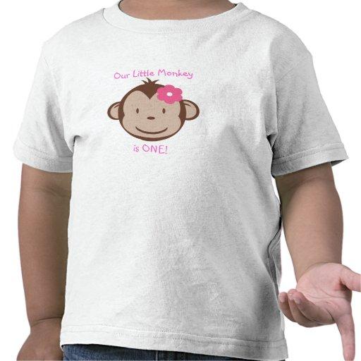 Our Little Mod Monkey Girl t-shirt Shirts