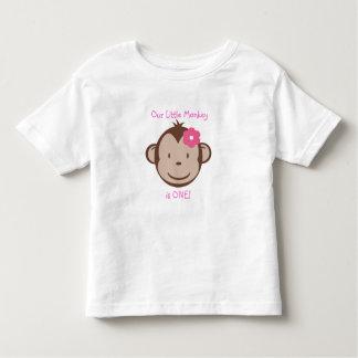 Our Little Mod Monkey Girl t-shirt