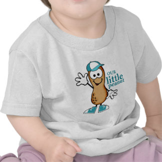 Our Little Peanut Blue Tee Shirts