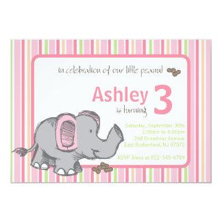 Our Little Peanut 5x7 Paper Invitation Card