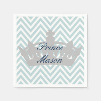 Our Little Prince is Turning 1 Birthday Napkins Disposable Napkin