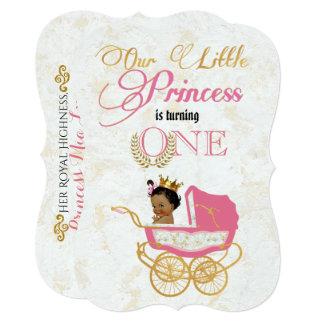 Our little Princess Royal 1st Birthday Invitation