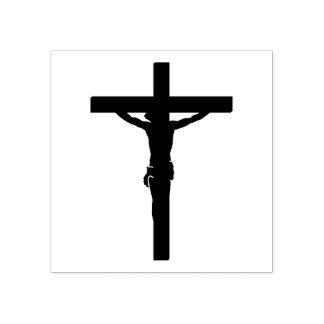 Our Lord Jesus Christ on Cross/Crucifix Rubber Stamp
