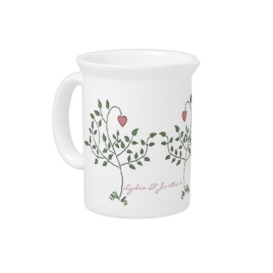 Our Love is Deeply Rooted Pitcher