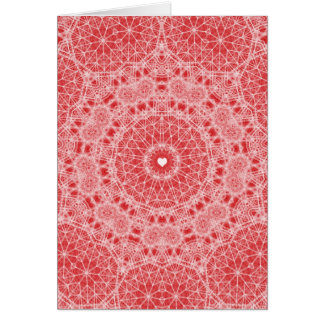 Our Love is Like Lace Greeting Card