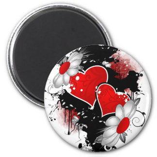 our love is one of a kind 2 inch round magnet
