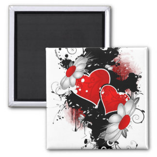 our love is one of a kind square magnet