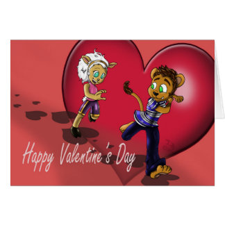 """""""Our Love"""" Valentine's Day Card"""