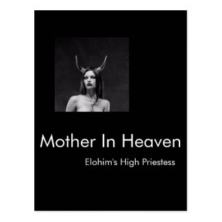 Our Mother In Heaven Postcard