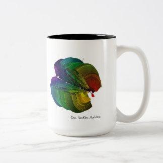 Our Needles Modulate Two-Tone Coffee Mug