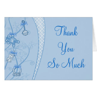 Our New Addition In Blue Hues Card