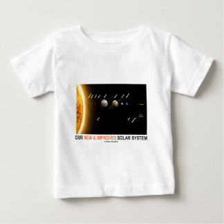 Our New And Improved Solar System (Galactic Humor) Baby T-Shirt