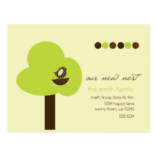 Our New Nest Postcard