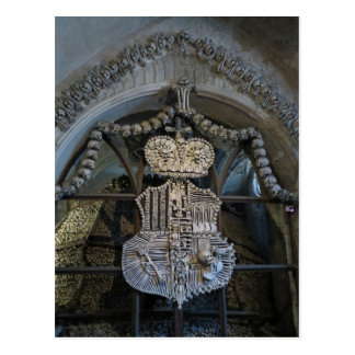 """our only bones"" - Sedlec Ossuary Postcard"