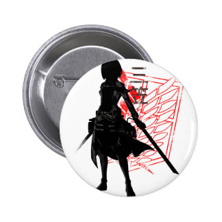 Our only hope warrior 2 inch round button