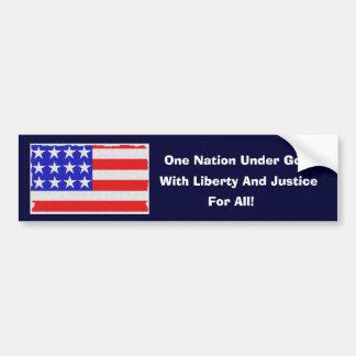 Our Pledge Bumper Sticker