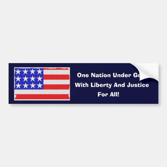 Our Pledge Bumper Sticker