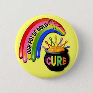 Our Pot Of Gold Awareness Design 2 Inch Round Button