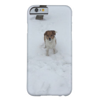"Our ""Rescue Dog"" ""Jack Russell""""Fox Terrier"" Mix Barely There iPhone 6 Case"