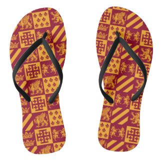 Our Royal Family Flip Flops