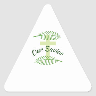 Our Savior Triangle Sticker