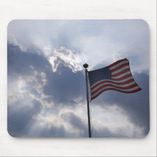 Our Shining Flag Mouse Pad