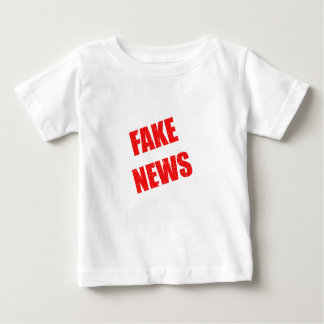 Our society is dominated by fake news baby T-Shirt