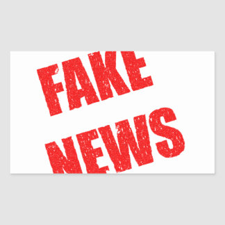 Our society is dominated by fake news sticker