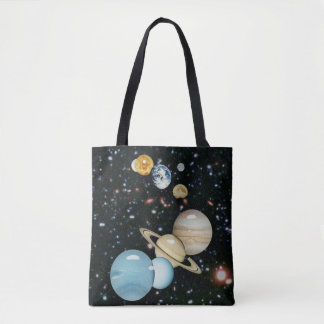 Our Solar System Tote Bag