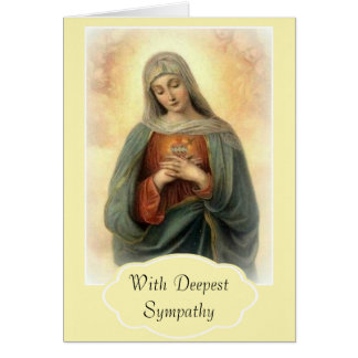 Our Sorrowful Mother Mary Card