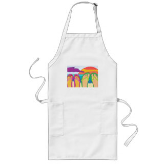Our Summer Vacation Long Apron