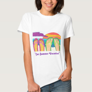 Our Summer Vacation Tee Shirt