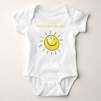 our sun ray baby bodysuit
