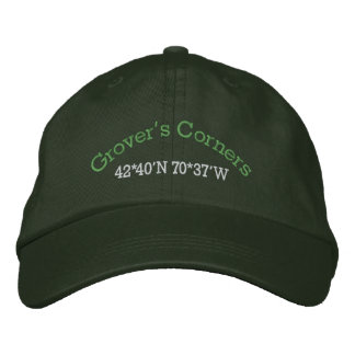 Our Town Embroidered Hat