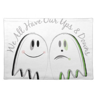Our Ups & Downs Place Mats