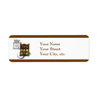 Our Victorian House to Yours Return Address Label