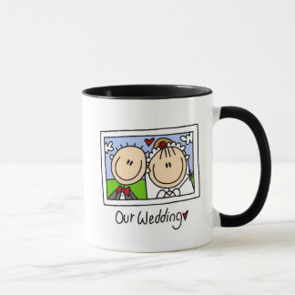 Our Wedding Customizable Mug