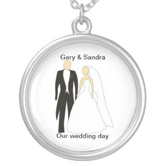 Our wedding day jewelry