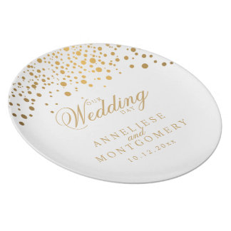 Our Wedding Day Keepsake Plate