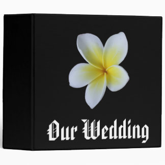 Our Wedding Frangipani Photo Binder
