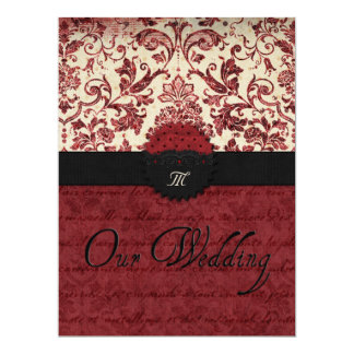 Our Wedding 6.5x8.75 Paper Invitation Card