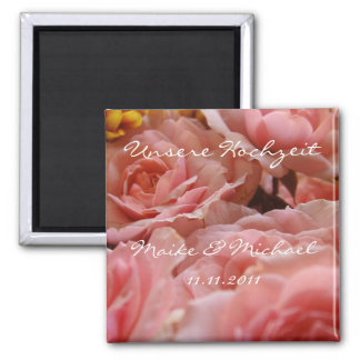 Our wedding (invitation) - magnet