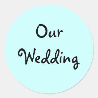 Our Wedding Invitation Seals