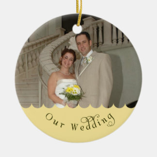 Our Wedding Ornament