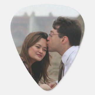 Our Wedding Personalized Photo Guitar Pick