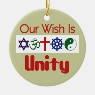 Our Wish UNITY Ornament