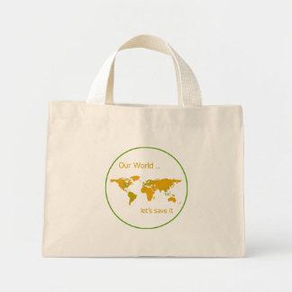 Our World Mini Tote Bag