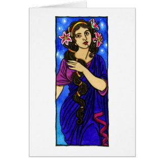 Ourania Greeting Card