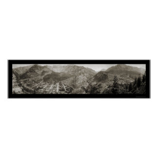Ouray, CO Photo 1910 Poster